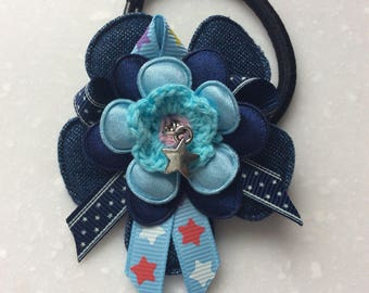 Elastic for girl with Flower and star