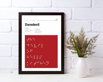 DAREDEVIL - DIGITAL DOWNLOAD - Alternative Poster - Marvel