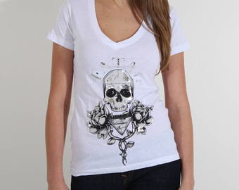 Womans V-Neck Tee