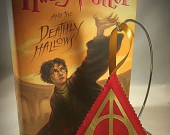 Harry Potter Deathly Hallows Fabric Ornament