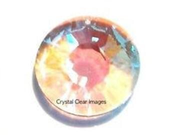 Swarovski Strass 40mm Aurora Borealis Crystal Sun Disc Prism Sun Catcher