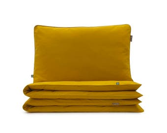 Bedding Set Basic Mustard