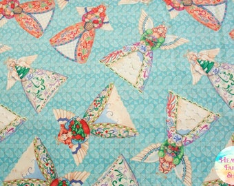 Angel Toss by Jim Shore for Springs Creative Cotton Fabric