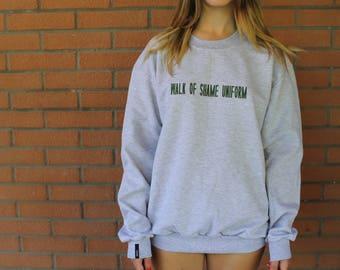 Grey Sweatshirt - Walk of Shame Uniform