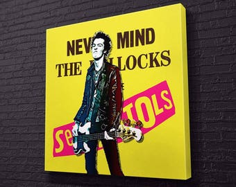 Sid Vicious Canvas Design