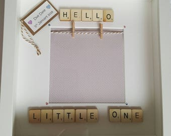 Baby Scan Frame - Hello Little One