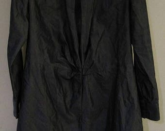 Sale Vintage Banana Republic Style Design Coat Made In Italy