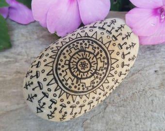 Zen Stone for Meditation and Yoga