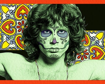 Jim Morrison Day of the Dead