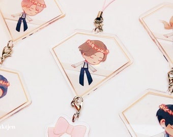 """Seventeen- 17""""Carat charms, cards & stickers"""