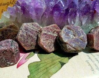Raw Ruby, Rubies, July, birthstone