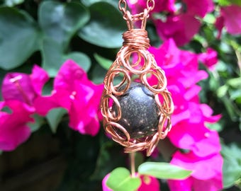 Healer's Gold Cage Pendant