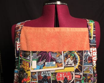 Orange Star Wars Bath Towel Apron