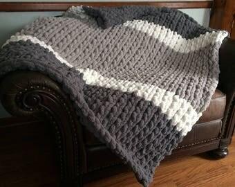 Handmade Jumbo Yarn Blankets
