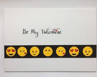 Emoji Valentines Card
