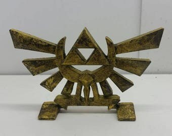 Zelda - Hyrule Royal Crest standing display