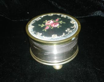 Vintage REUGE Musical Powder Box