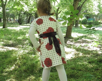 Flower girl dress , tynik girl