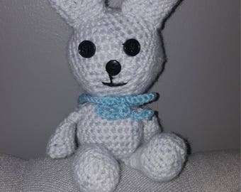 Crochet toy rabbit