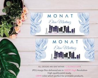 Monat Business Facebook Cover, Custom Monat Banner, Fast Free Personalization, Custom Monat Hair Care Card, Monat Banner MN19