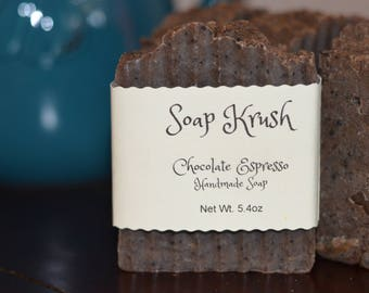 Chocolate Espresso Scrub Soap