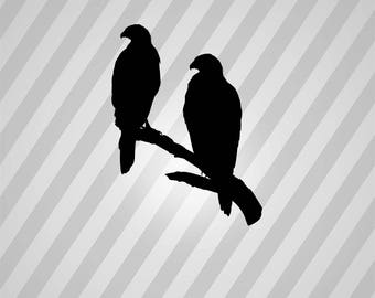 Eagle Silhouette Eagles - Svg Dxf Eps Silhouette Rld RDWorks Pdf Png AI Files Digital Cut Vector File Svg File Cricut Laser Cut