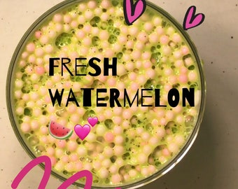 Fresh watermelon slime :3 (scented)