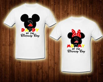 family shirts mickey mouse play house birthday theme mom of the birthday boy dad of the birthday girl
