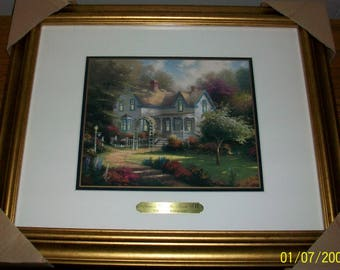 Listing 165 is the Thomas Kinkade Home is Where the Heart is II