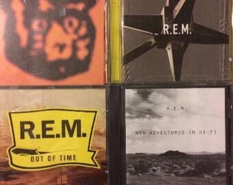 REM 4 CD Lot