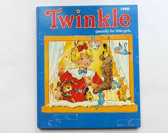 Vintage 1990 TWINKLE Specially For Little Girls Annual Book 1990's Childrens
