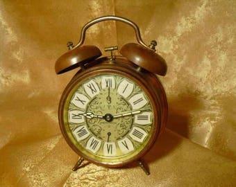 Table clock, vintage