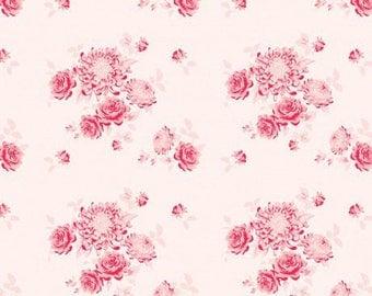Fabric by the meter, TILDA, pink, 26 480082 memories garden, flowers, patchwork