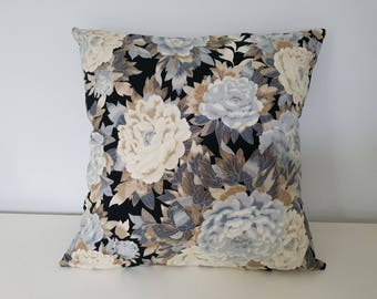 Peony cotton Cushion cover