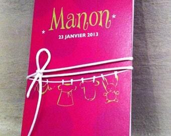 Birth announcements of MANON thread pegs