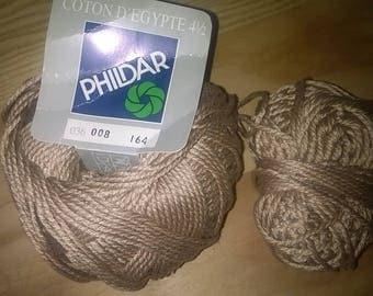 229) Egyptian cotton knitting beige