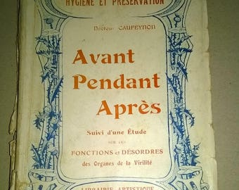 177) old French book