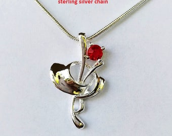Sterling Silver Pendants with Chains | 9 styles available
