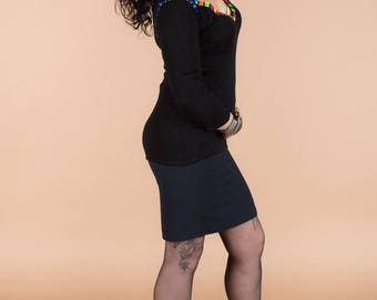 original straight lined skirt