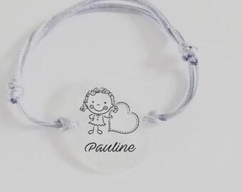 Bracelet cordon to customize