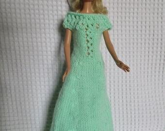 Long dress for Barbie doll