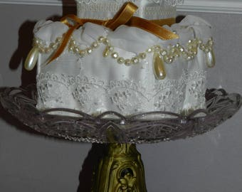 wedding pillow ring bearer wedding cake