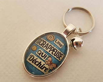 Special Keychain for Scrapbooker