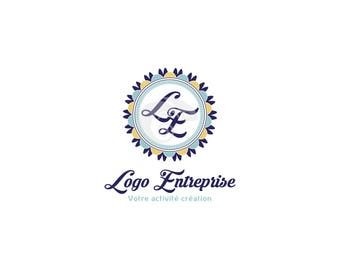 Personalized logo, logo boutique logo business logo design round logo, initial logo