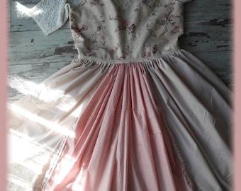 DRESS shabby chic large