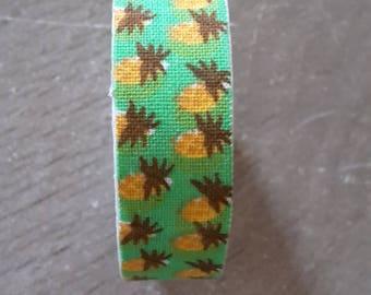 Washi tape cotton pineapple