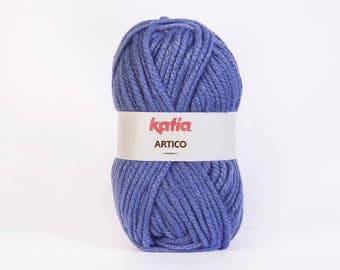 big yarn Katia ARTICO # 27 Blue