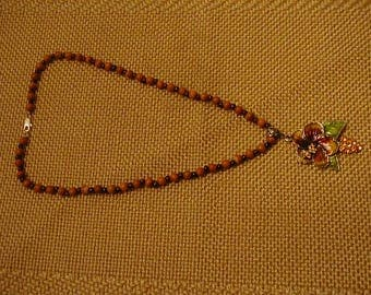 Necklace, Jasper & Garnet
