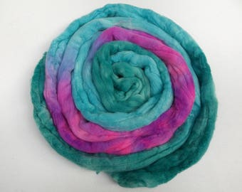 Purple Pop Merino Wool Roving