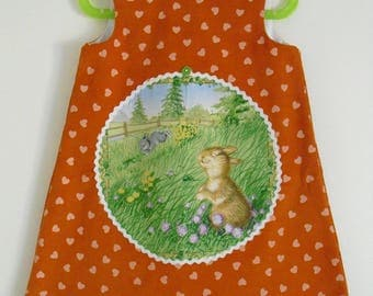 "Very cute little dress ""My Bunny"" T 3 years old"
